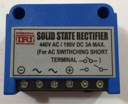 Solid State Rectifier 3 Amps