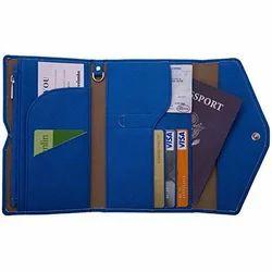 Blue, Options Availble Master Files Passport Holder