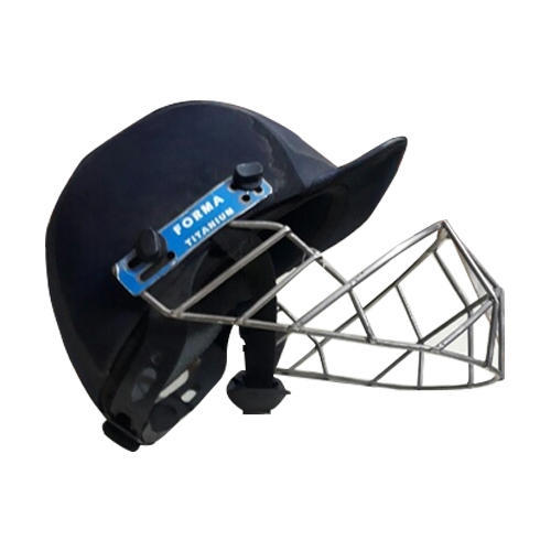 7380483c8f1 Navi Blue Cricket Helmet