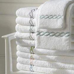 White Cotton Luxury Towel