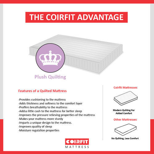 Bonded Foam Mattress - Coirfit Bone Zone