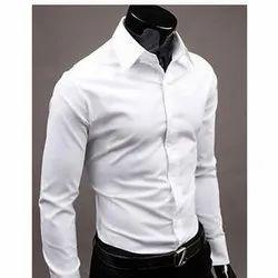 Men Full Sleeve White Shirt