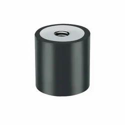 Trinity Black Rubber Damper, For Industrial