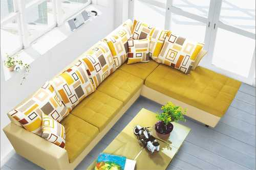 5 Seater L Shape Sofa Set Dimensions 1940 X 850 910 2115