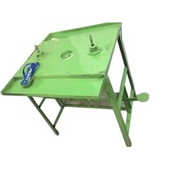 Ahamad Projects Manual Slipper Strap Inserting Machine Machine, For Slippers