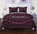 Blue Queen Mandala Duvet Printed Cotton Cover
