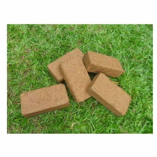 Rectangular Cocopeat Bricks, Packaging Type: Bag, Pack Size: 10 Kg,