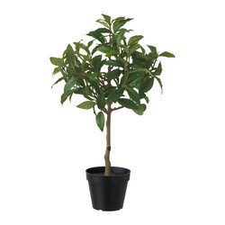 artificial plants - artificial philo real touch plant with pu stick