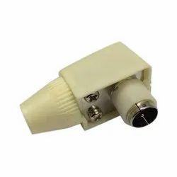 Female/Jack F Type Setup Box Connector Antenna Plug, For Audio & Video