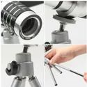 12x Telescope Lens with Tripod Smartphone