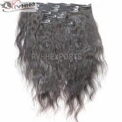 Human Hair Clip In