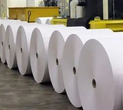 Imported Plain Jumbo Thermal Paper Rolls, For Commercial, GSM: Less than 80 GSM