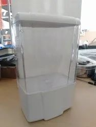 2L SANITIZER DISPENSER ABS ENCLOSURE