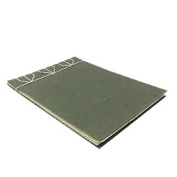 Olive Green Handmade Notebook