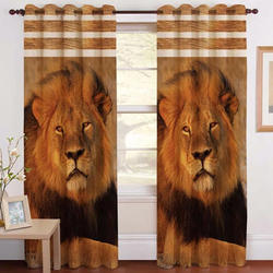Lion Digital Curtain