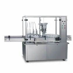 Vial Syringe Filling and Stoppering Machine