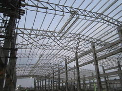 Steel PEB Roofing Structure