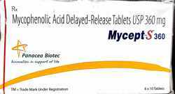 Mycept-s 360mg Tablets
