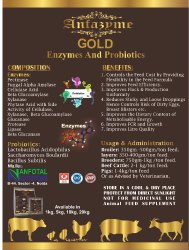 Animal Feed Enzyme (Anfazyme Gold)