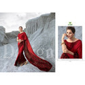 Heavy Georgette Fancy Printed Sarees
