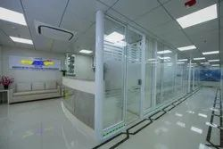 Manufacturer of Double Glass Office Partition from mumbai