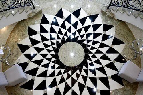 Border Design Granite Tile