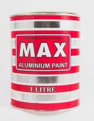 Max Aluminium Paint, Packaging Type: Tin