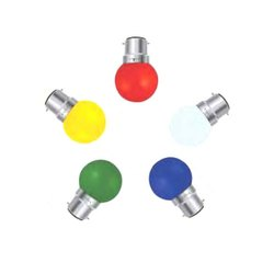 0.5 W Ceramic Colored Light Bulb, For Lighting, AC 100-300 V
