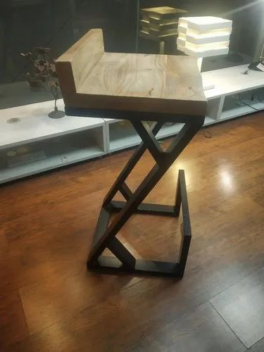 Onyx Black Wooden Bar Stool, Model No: Onyxbs, Size: 2