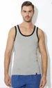 Van Heusen Grey Melange Gym Vest