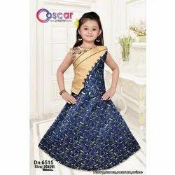 Oscar Cotton Kids Western Dress