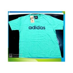Green Cotton T- Shirt