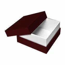 Corrugated Kraft Paper Square Rigid Box, Size/Dimension: 10 X 10 Inch