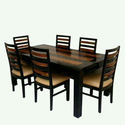 Wooden Dining Table At Rs 35000 /set | Dining Table   National Furniture,  Bengaluru | ID: 15262618155