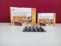 Antioxidants with Ginseng Multivitamin Multimineral Softgel Capsule