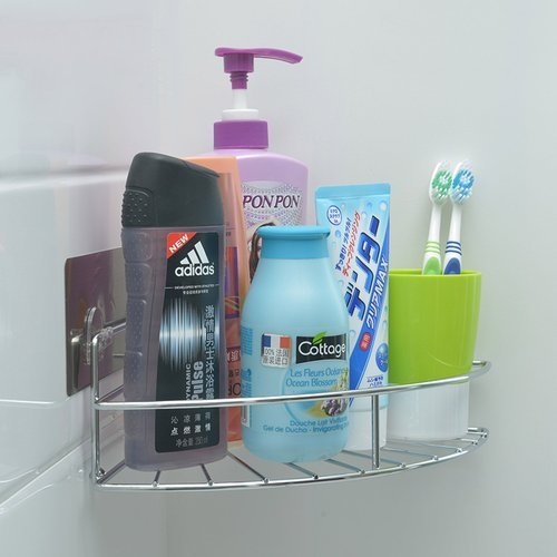 Stainless Steel Bathroom Corner Shower Caddy at Rs 371 /piece ...