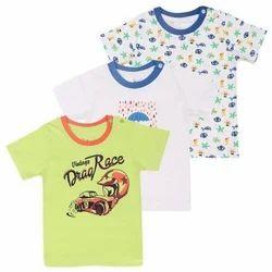 Multicolored Cotton Kids T-Shirt