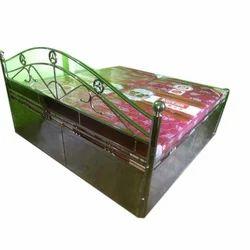 Rajdhani Steel 6x6 Feet Stainless Steel Bed