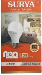 Round Surya 10W LED Bulb