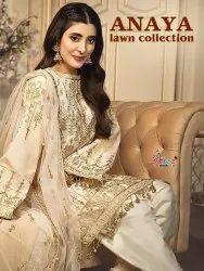 Shree Anaya Lawn Collection Pakistani Style Salwar Suit Catalog