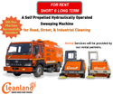 Industrial Sweeping Machines Rental