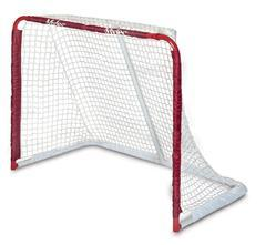 Hockey Goal Post Steel Fixed With Back Board Stag HP New