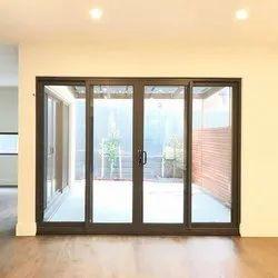 Aluminium (Frame) Glass Silding Door, Interior