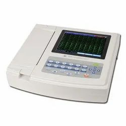 Digital ECG Machine 4 channel, Number Of Channels: 6 Channels