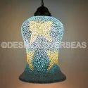 Deshilp Overseas More Color Availble Mosaic Hanging Lamps
