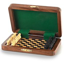Chess Board Wooden Handicraft 114