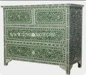 Olivia Mother of Pearl Chest of Drawer