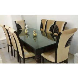 Brown Fancy Dining Table Set Rs 80000 Set M A Furniture Id 20247300548