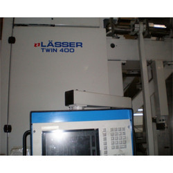 Used Lasser Twin 400 Schiffli Embroidery Machine