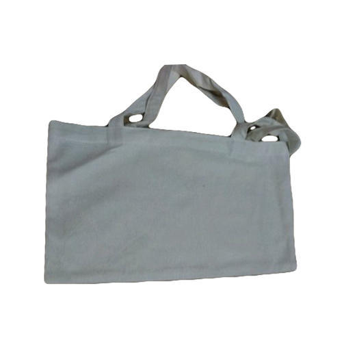Cotton White Carry Bag, Capacity: 2 to 4 kg